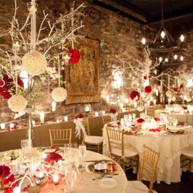 Gorgeous rustic christmas table settings ideas 9 9