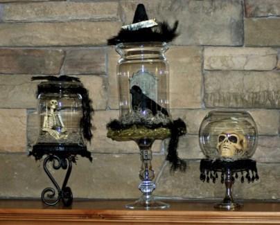 Great halloween mantel decorating ideas 04