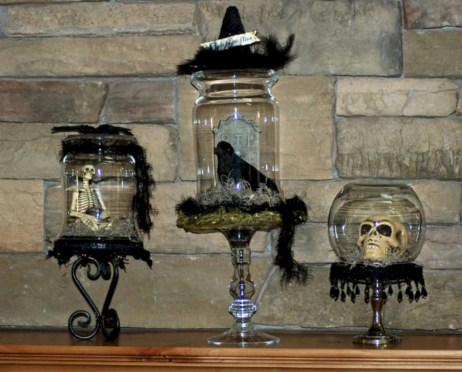 Great halloween mantel decorating ideas 04
