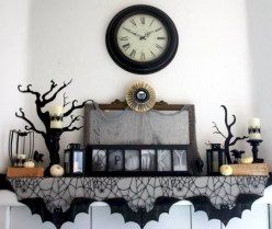 Great halloween mantel decorating ideas 07