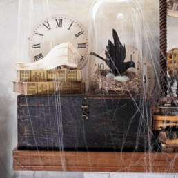 Great halloween mantel decorating ideas 26