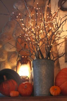 Great halloween mantel decorating ideas 41