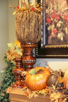 Great halloween mantel decorating ideas 52
