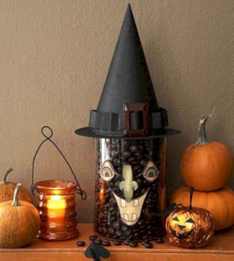 Great halloween mantel decorating ideas 57