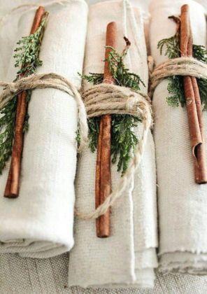 Ideas how to make minimalist christmas décoration 02