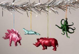 Ideas how to make minimalist christmas décoration 05