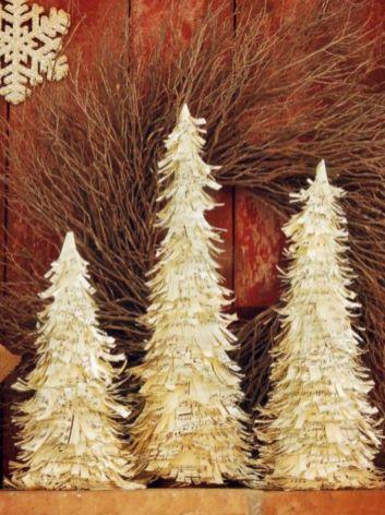 Ideas how to make minimalist christmas décoration 07