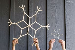 Ideas how to make minimalist christmas décoration 10