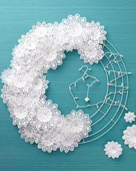 Ideas how to make minimalist christmas décoration 37