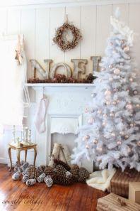 Ideas how to make minimalist christmas décoration 38