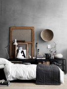 Industrial bedroom designs ideas for small spaces 10