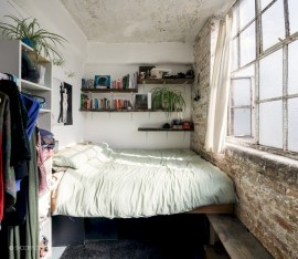 Industrial bedroom designs ideas for small spaces 19