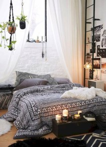 Industrial bedroom designs ideas for small spaces 28