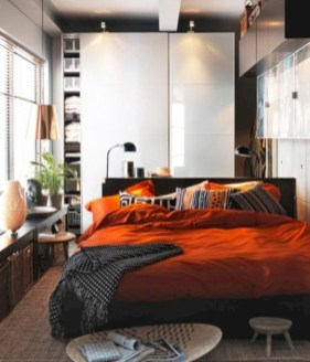 Industrial bedroom designs ideas for small spaces 33