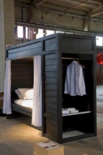 Industrial bedroom designs ideas for small spaces 43