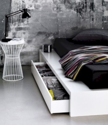 Industrial bedroom designs ideas for small spaces 50