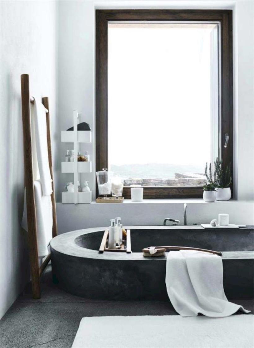Industrial vintage bathroom ideas (15)