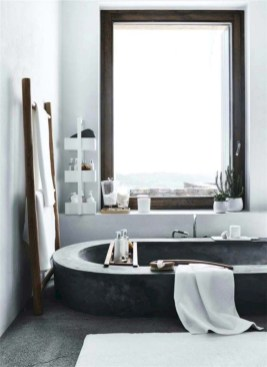 Industrial vintage bathroom ideas (15)