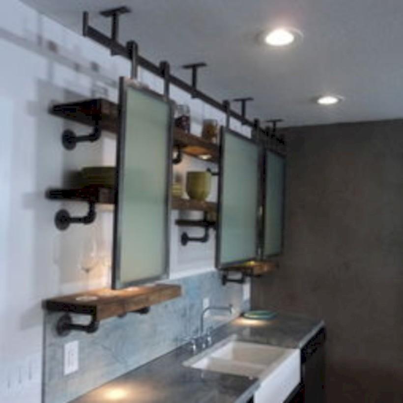 Industrial vintage bathroom ideas (20)