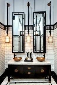 Industrial vintage bathroom ideas (28)
