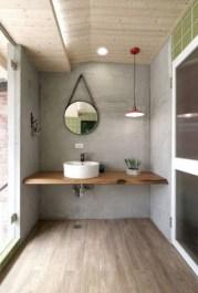 Industrial vintage bathroom ideas (30)