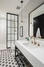 Industrial vintage bathroom ideas (4)