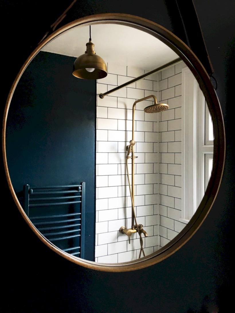 Industrial vintage bathroom ideas (53)