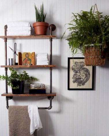 Industrial vintage bathroom ideas (61)