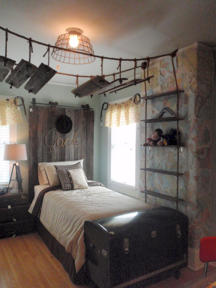Inspiring bedroom design for boys 18