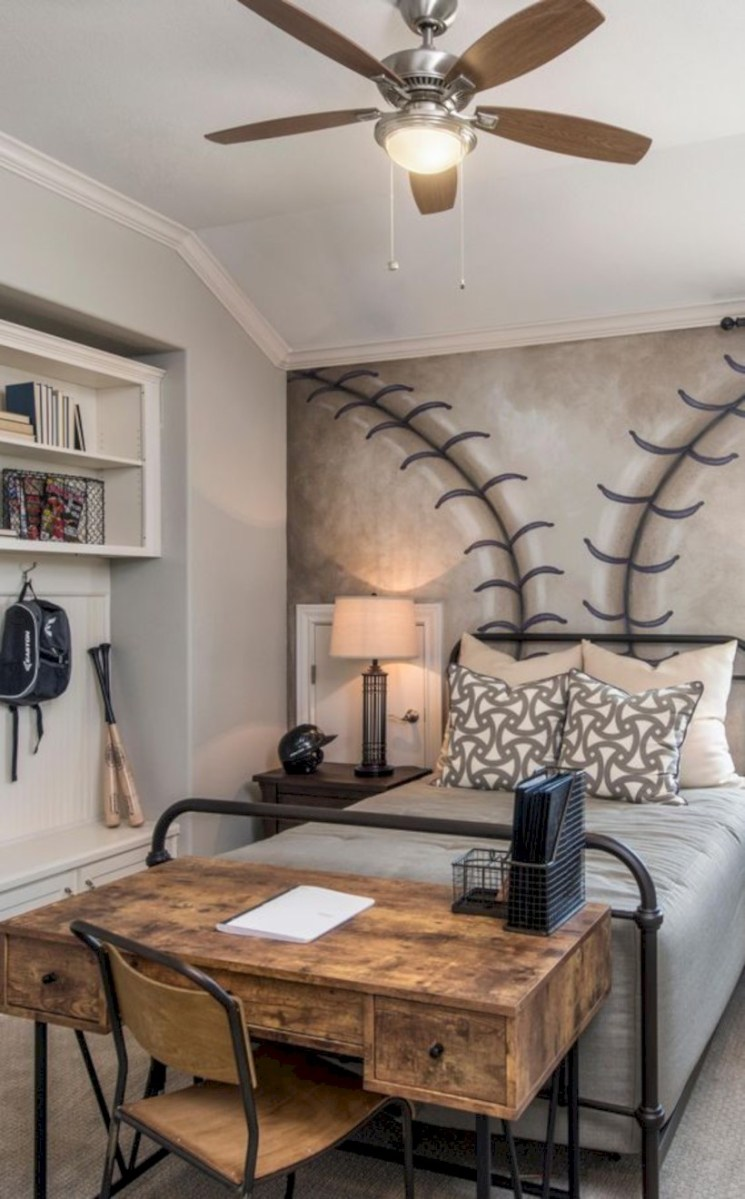 Inspiring bedroom design for boys 24