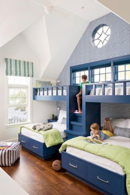 Inspiring bedroom design for boys 54