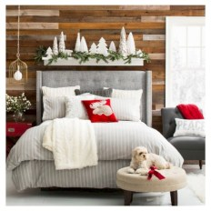 Inspiring christmas bedroom décoration ideas 24