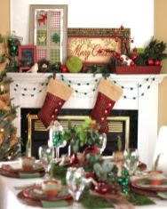 Inspiring christmas decoration ideas using plaid 11