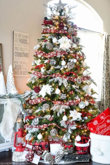 Inspiring christmas decoration ideas using plaid 13
