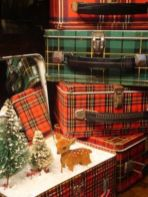Inspiring christmas decoration ideas using plaid 22