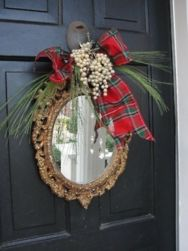 Inspiring christmas decoration ideas using plaid 27