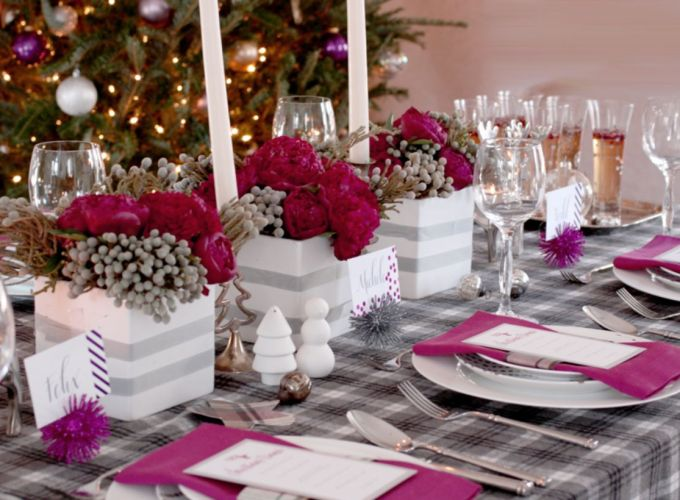 Inspiring christmas decoration ideas using plaid 44