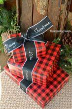 Inspiring christmas decoration ideas using plaid 48