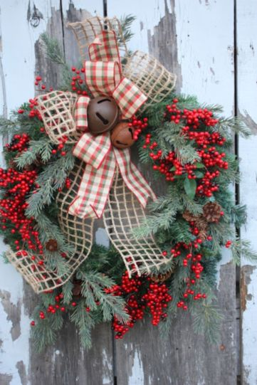 Inspiring christmas decoration ideas using plaid 52