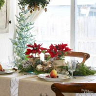 Inspiring christmas decorations ideas with traditional touch 37