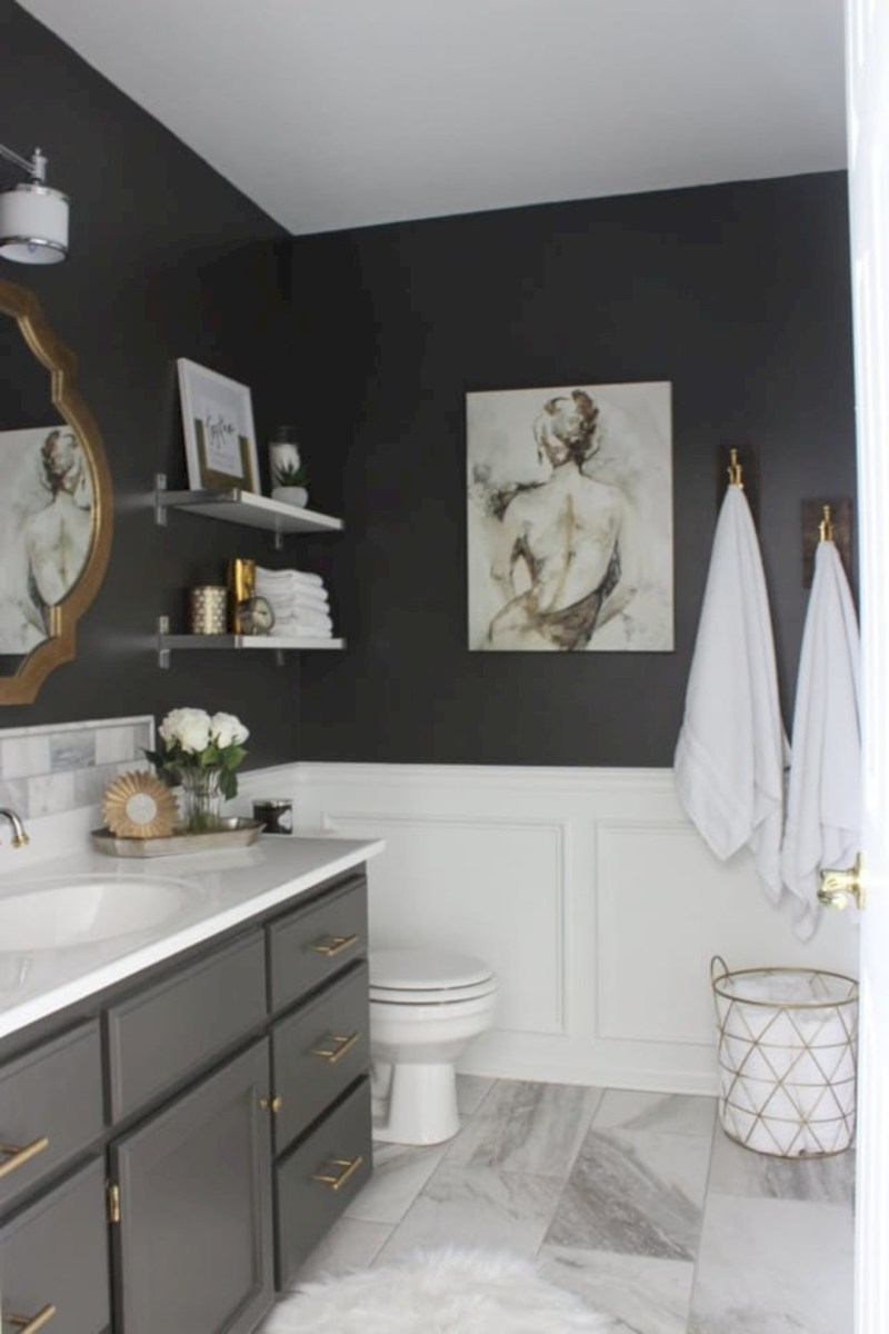 Inspiring diy bathroom remodel ideas (46)
