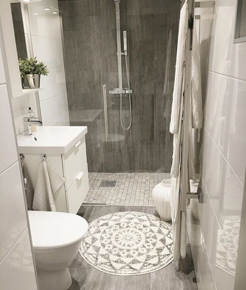 Inspiring diy bathroom remodel ideas (52)