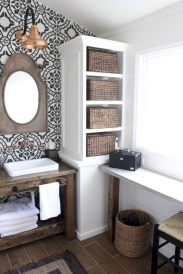 Inspiring diy bathroom remodel ideas (53)