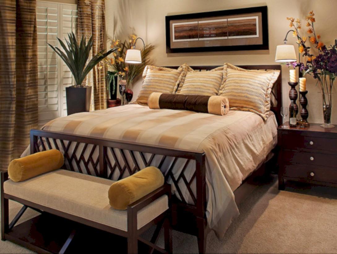 Inspiring earth color bedroom designs ideas 37