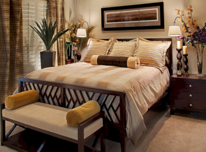 Inspiring earth color bedroom designs ideas 37