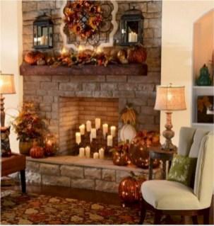 Inspiring halloween fireplace mantel ideas 18