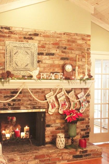 Inspiring halloween fireplace mantel ideas 20