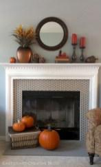 Inspiring halloween fireplace mantel ideas 50