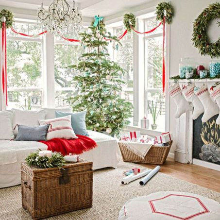 Inspiring indoor rustic christmas décoration ideas 12 12