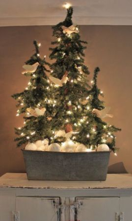 Inspiring indoor rustic christmas décoration ideas 13 13